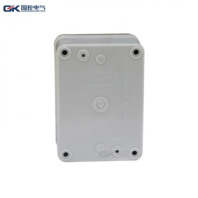 Copper Connection Plastic Waterproof Electrical Junction Box Ip44