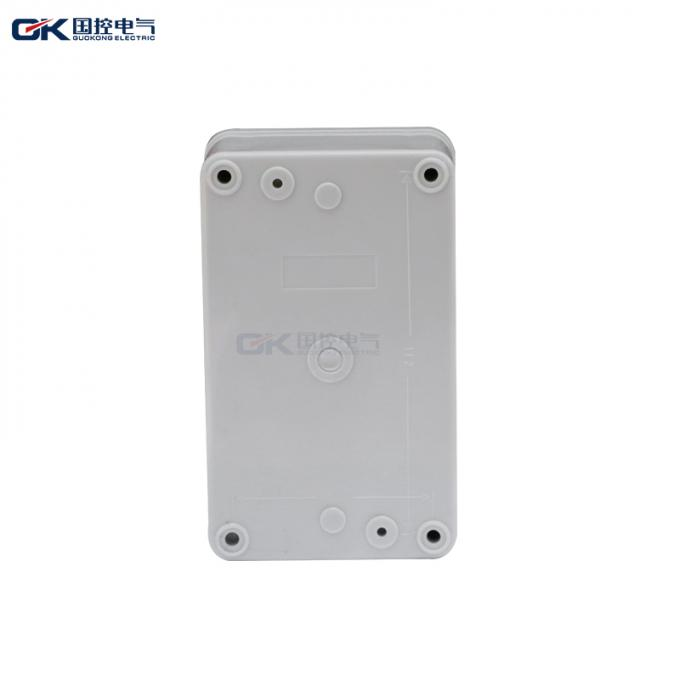 Polycarbonate Coating  Plastic Junction Box For Construction Sites , CE Certification
