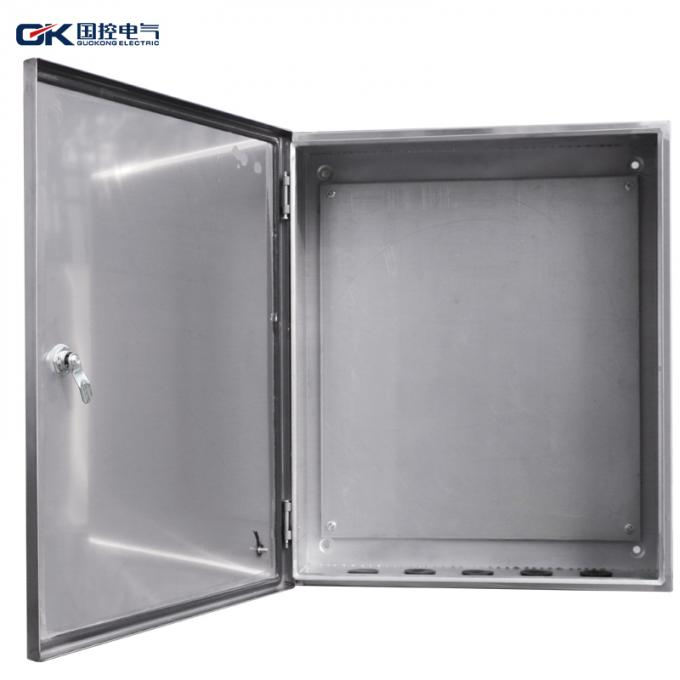 Lockable Stainless Steel Distribution Box Professional Electrical Switch Box