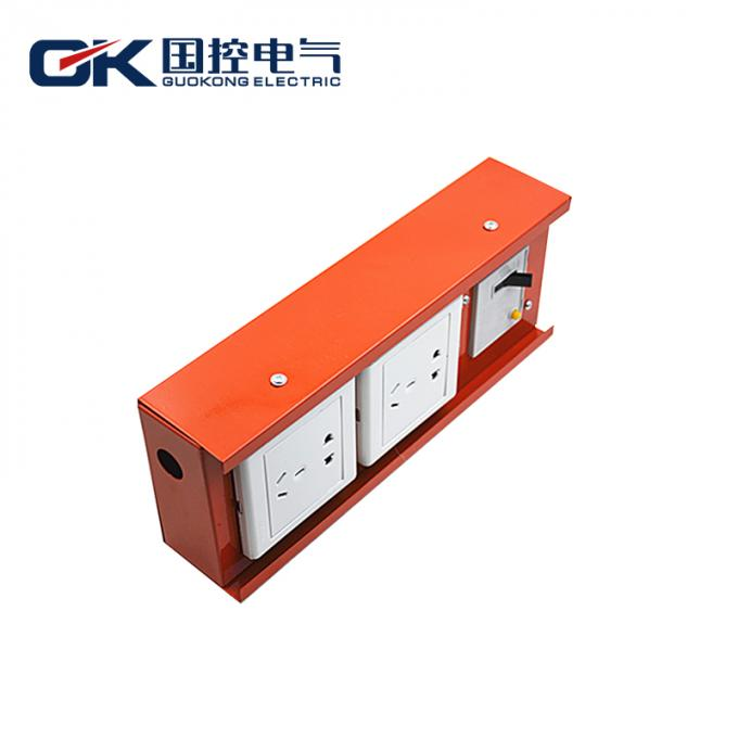 Custom - Design Electrical Distribution Box Small Waterproof Metal Hanndle Type