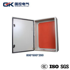 Indoor Painted carbon steel RAL 7035 light gray solar module distribution box