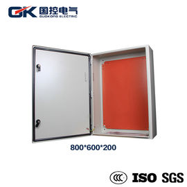 China Indoor Painted carbon steel RAL 7035 light gray solar module distribution box supplier