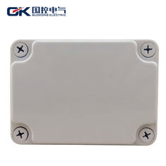 China Durable Grey ABS Junction Box , Small Clear Plastic Enclosures For Electronics supplier
