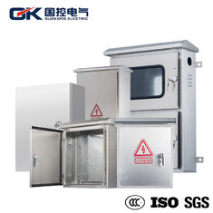 China OEM Offered Stainless Steel Industrial Enclosures / Electrical Metal Cabinets supplier