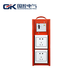 China Custom - Design Electrical Distribution Box Small Waterproof Metal Hanndle Type supplier