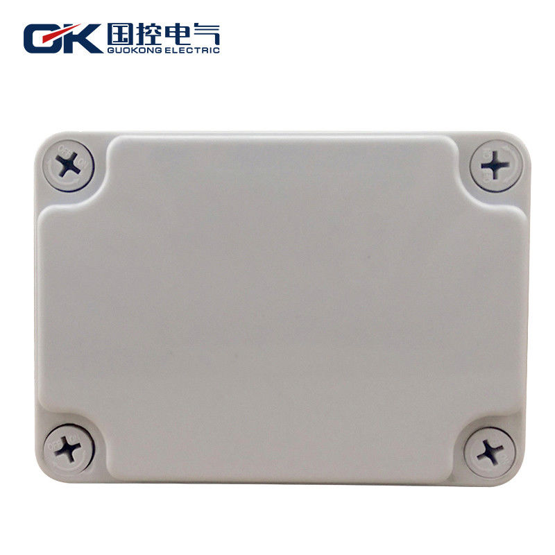 Durable Grey ABS Junction Box , Small Clear Plastic