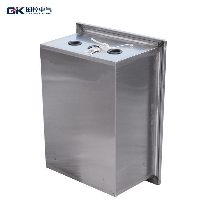 Outdoor Electrical Stainless Steel Control Panel , Explosion Proof ...