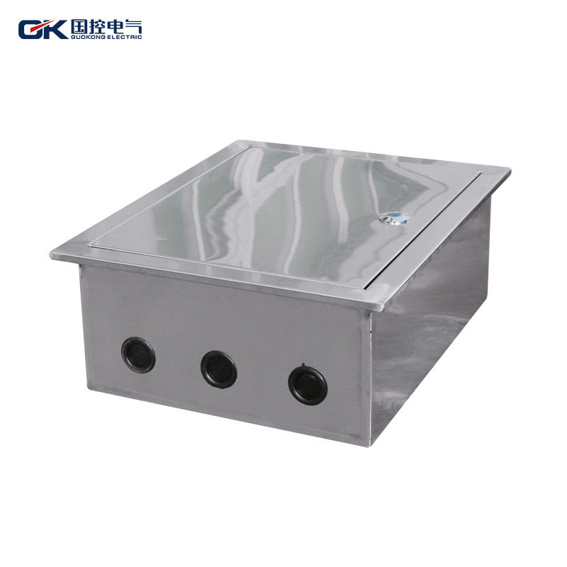SS 304 Electrical Distribution Box Precision IP66 Waterproof CE