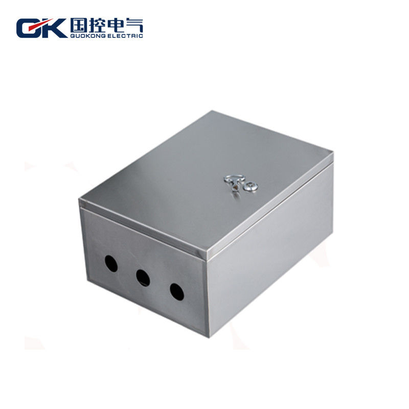 0da7850e8824 China Three Holes Stainless Steel Distribution Box Metal DB Box High  Temperature Resistant supplier