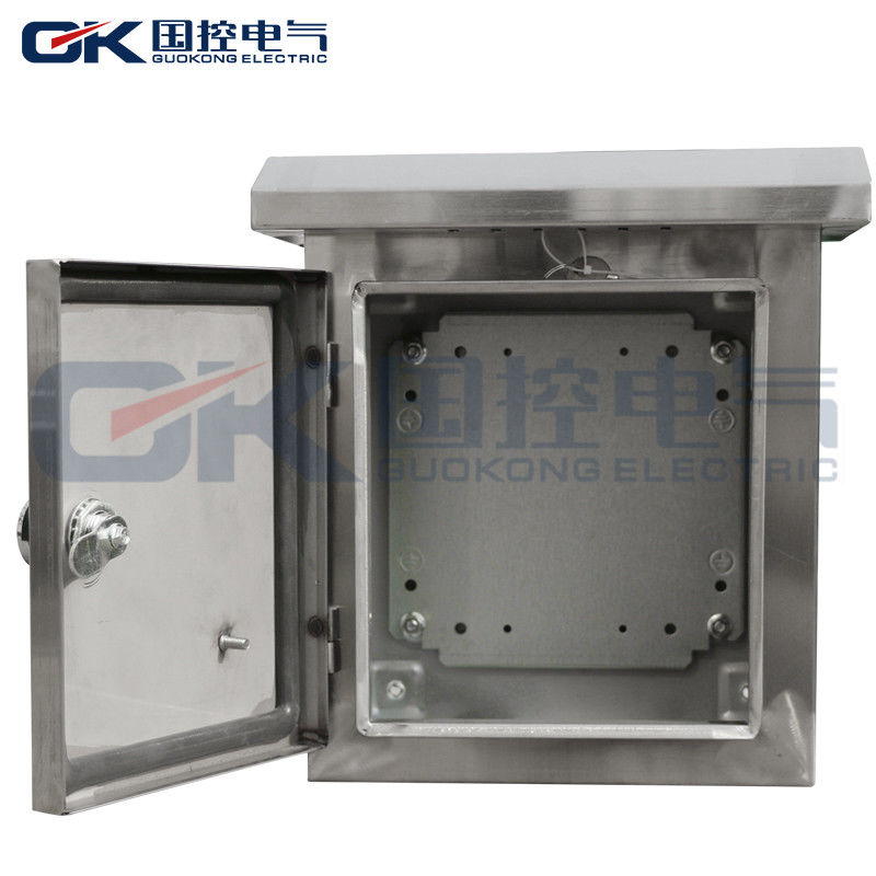 Small Size Cable Stainless Steel Electrical Panel Box Flat ...