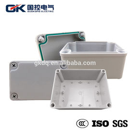 Industrial ABS Junction Box Terminal / Outdoor Plastic Waterproof ABS Box Small Scale