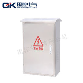 Exterior Stainless Steel Electrical Box , Electrical Distribution Board Rated Voltage 500V
