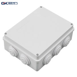 OEM Offered Electrical Connection Box Plastic High Firmness With Environmental Protection