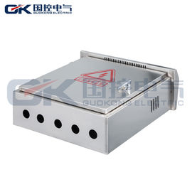 Waterproof Outdoor Metal Electrical Enclosure Box / Stainless Steel Wall Box