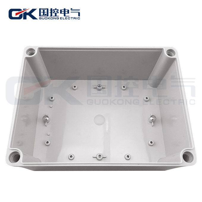 Durable Grey ABS Junction Box , Small Clear Plastic Enclosures For Electronics