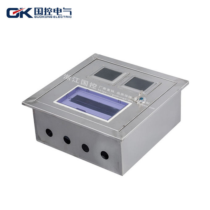 external galvanized steel enclosures , lockable outdoor electrical fuse box  ce certification